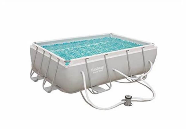 Bestway-56631E-Power-Steel-Above-Ground-Pool-WhiteGray