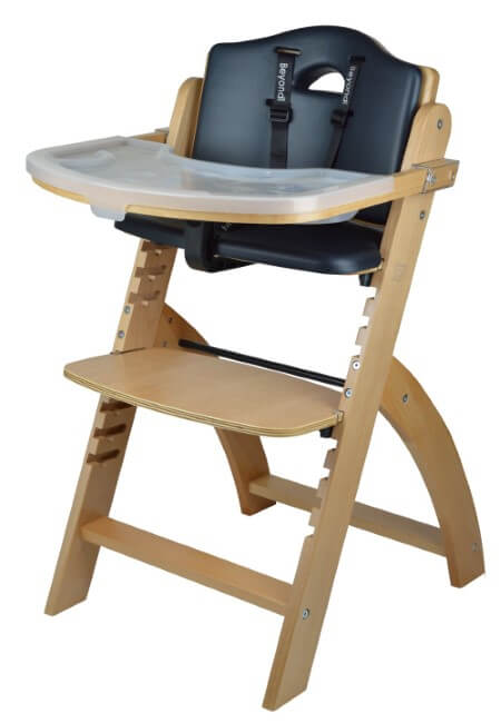 Abiie-Beyond-Wooden-High-Chair-with-Tray.-The-Perfect-Adjustable-Baby-Highchair