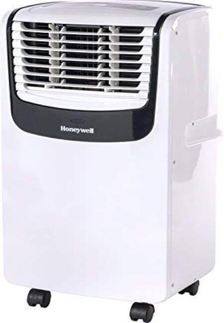 Honeywell-MO08CESWK-Compact-Portable-Air-Conditioner-with-Dehumidifier-and-Fan-for-Rooms-Up-To-350-Sq.-Ft.-With-Remote-Control