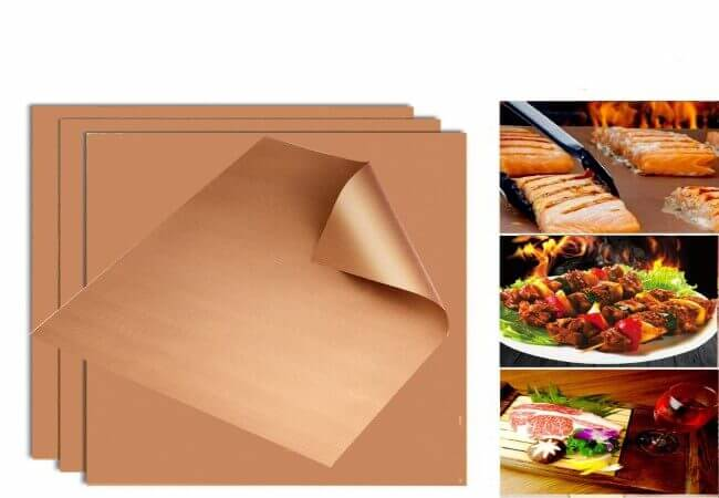 SKYBD-Copper-Grill-Mat-Non-Stick-BBQ-GrillBaking-Mat-for-Gas