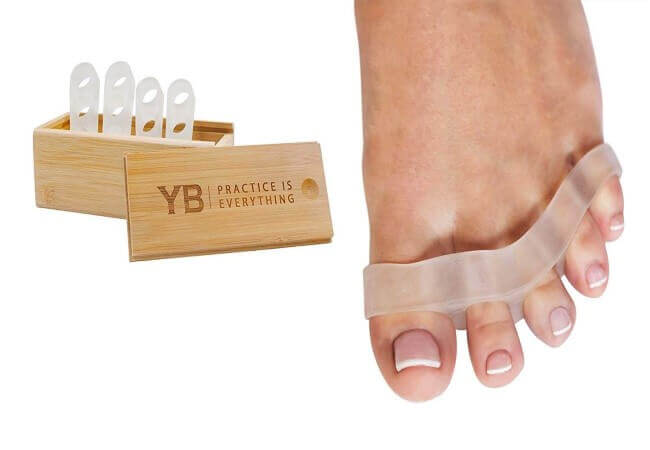 YOGABODY-Naturals-Toe-Spreaders-Separators-Fast-Pain-Relief-from-Hammertoe-Bunions-Two-Pairs-in-Stylish-Wooden-Box