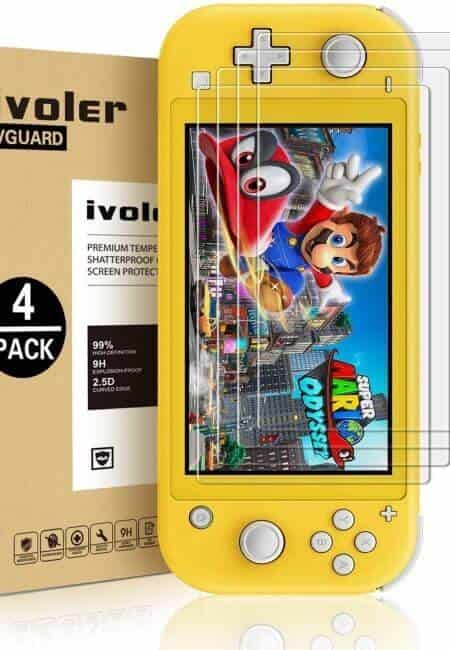 4-Pack-Screen-Protector-Tempered-Glass-for-Nintendo-Switch-Lite