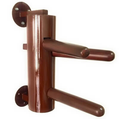 AugustaPro-Wing-Chun-Dummy-Half-Sized-Wall-Mount-Metal-Dummy-Holiday-Sales