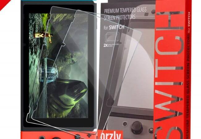 Orzly-Glass-Screen-Protectors-compatible-with-Nintendo-Switch-Premium-Tempered-Glass-Screen