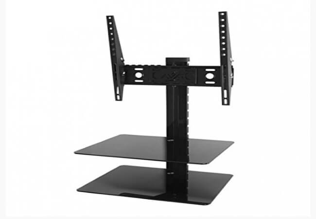 AVF-ESL422B-T-Tilt-and-Turn-TV-Mount-with-2-AV-Shelves-and-Cable-Management-System-for-25-Inch-to-47-Inch-TV-Black