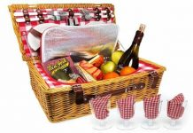 Upgraded-4-Person-XL-Picnic-Basket