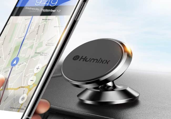 Magnetic-Phone-Holder-for-Car-Humixx-360°-Adjustable-Dashboard-Phone-Car-Mount-Compatible-with-iPhone-XS-Max-iPhone-XS-X-8-8-Plus