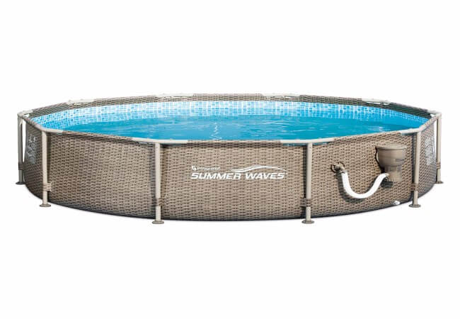 Summer-Waves-10ft-x-30in-Frame-Swimming-Pool-with-Exterior-Wicker-Print-Tan