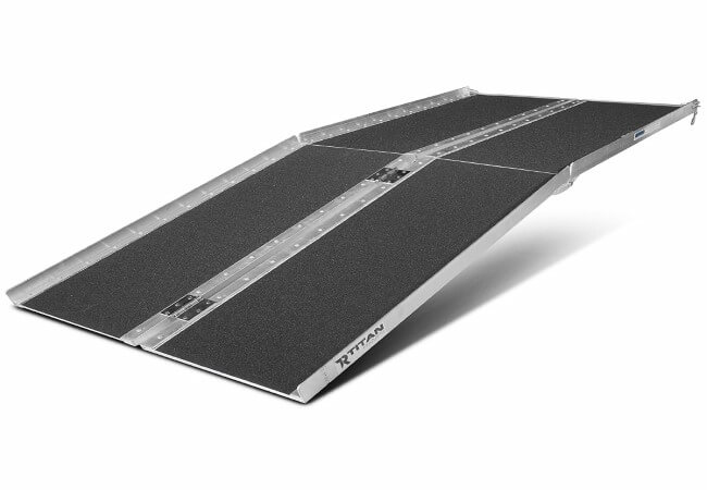 Titan-Ramps-6-ft-Aluminum-Multifold-Wheelchair-Scooter-Mobility-Ramp-portable-72-MF6