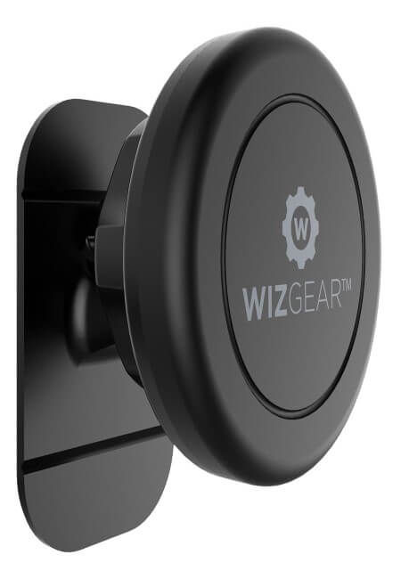 WizGear-Magnetic-Mount-Universal-Stick-On-Dashboard-Magnetic-Car-Mount-Holder-for-Cell-Phones-and-Mini-Tablets-with-Fast-Swift-snap-Technology
